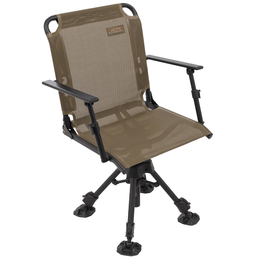 Guide Gear Swivel Hunting Chair Black
