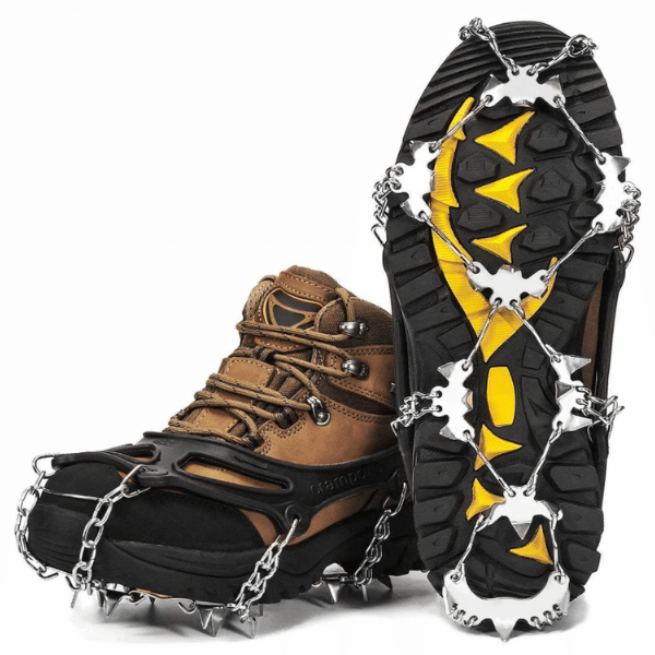 best ice fishing cleats for boots